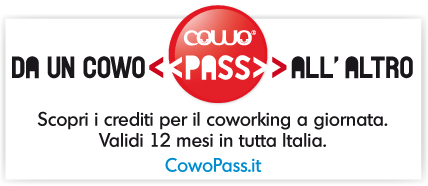 CowoPass Co-working a giornata in tutta Italia