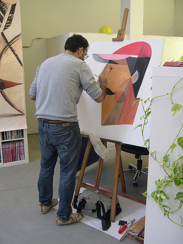 Riccardo Guasco al coworking di Tortona