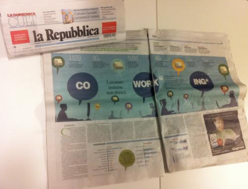 Coworking su Repubblica