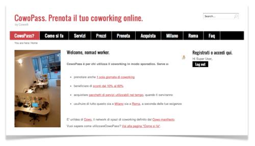 Prenota online il tuo coworking Cowo a Milano e Roma