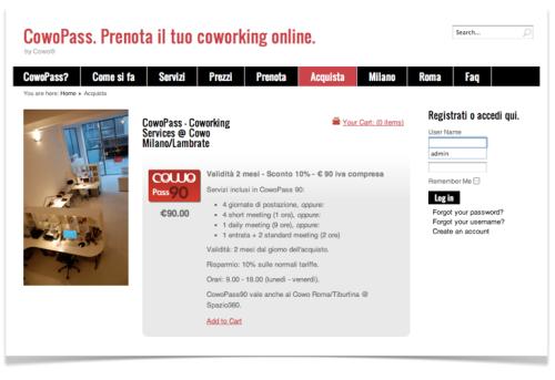 Prenota il tuo coworking online a Milano e Roma