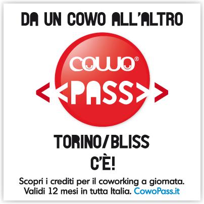 Coworking a giornata presso Cowo Torino Bliss